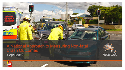 Webinar: A National Approach to Measuring Non-fatal Crash Outcomes
