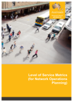 Level of Service Metrics (for Network Operations Planning)