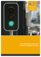 Cover of Operationalising Austroads' Product Acceptance Process