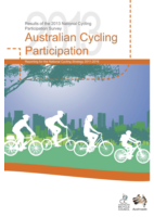 Cover of Australian Cycling Participation 2013