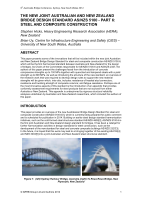 Cover of The New Joint Australian and New Zealand Bridge Design Standard AS/NZS 5100: Part 6: Steel and Composite Construction