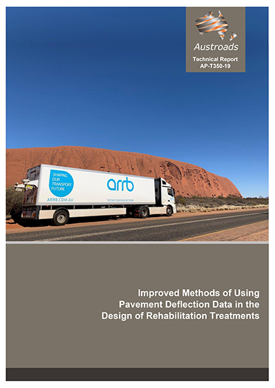 Cover of Improved Methods of Using Pavement Deflection Data in the Design of Rehabilitation Treatments