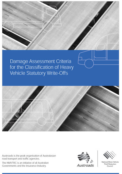 Cover of Damage Assessment Criteria for the Classification of Heavy Vehicle Statutory Write-Offs