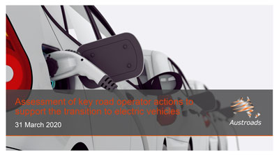 Webinar: Assessment of Key Road Operator Actions to Support Electric Vehicles