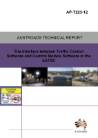 Cover of The Interface between Traffic Control Software and Control Module Software in the AATSC