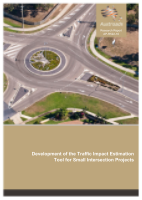 Cover of Development of the Traffic Impact Estimation Tool for Small Intersection Projects