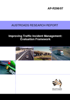 Cover of Improving Traffic Incident Management: Evaluation Framework