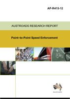 Cover of Point-to-Point Speed Enforcement