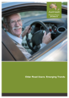 Older Road Users: Emerging Trends