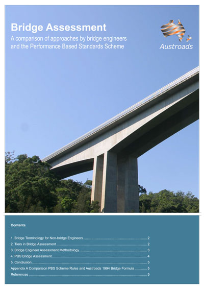 Bridge Assessment: A comparison of approaches by bridge engineers and the Performance Based Standards Scheme