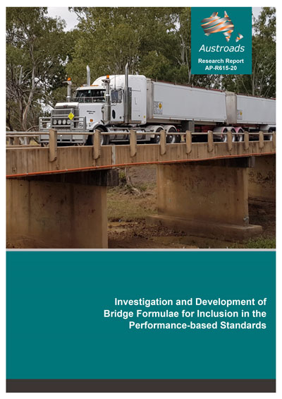 Investigation and Development of Bridge Formulae for Inclusion in the Performance-based Standards