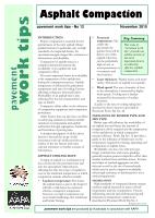 Cover of Asphalt Compaction