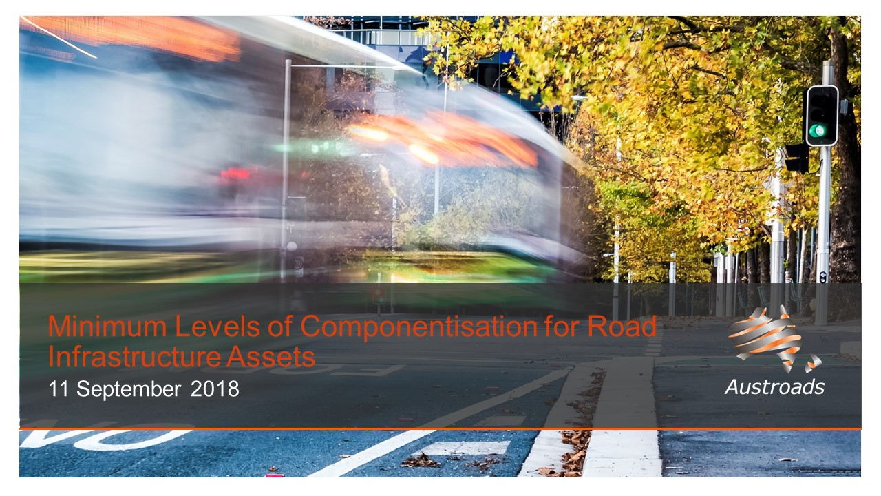 Webinar: Minimum Levels of Componentisation for Road Infrastructure Assets