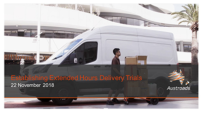 Webinar: Establishing Extended Hours Delivery Trials
