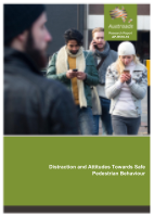 Distraction and Attitudes Towards Safe Pedestrian Behaviour