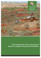 The Forrest Review: Driver Licensing and Barriers to Indigenous Economic Participation