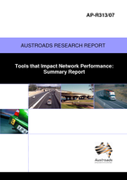 Cover of Tools that Impact Network Performance: Summary Report