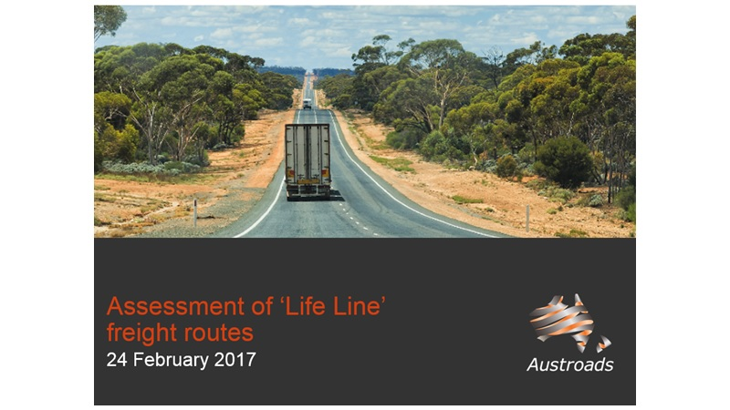 Webinar: Assessment of Life Line Freight Routes