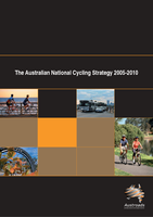 Cover of National Australian Cycling Strategy