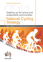 Cover of The Australian National Cycling Strategy 2011-2016