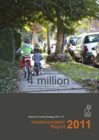 Cover of National Cycling Strategy 2011-16: Implementation Report 2011
