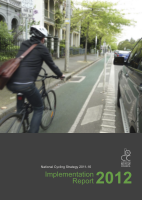 Cover of National Cycling Strategy 2011-16: Implementation Report 2012