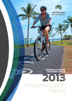 Cover of National Cycling Strategy: Implementation Report 2013
