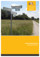 Bicycle Wayfinding: Literature Review