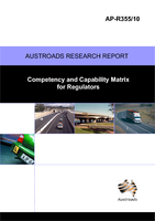 Competency and Capability Matrix for Regulators