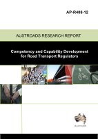 Cover of Competency and Capability Development for Road Transport Regulators