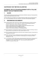 Pavement Deflection Measurement with a Falling Weight Deflectometer (FWD)