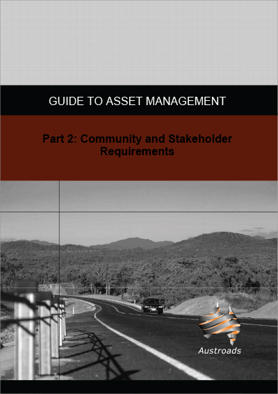 Cover of Guide to Asset Management Part 2: Community and Stakeholder Requirements