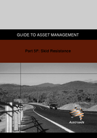 Cover of Guide to Asset Management Part 5F: Skid Resistance