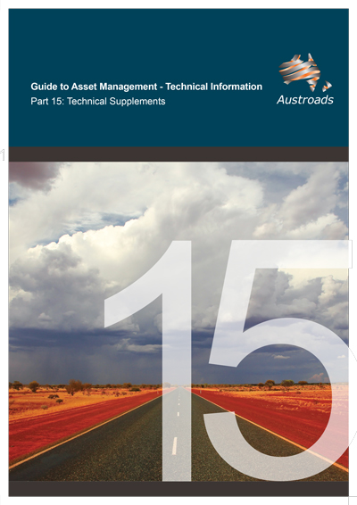 Cover of Guide to Asset Management Technical Information Part 15: Technical Supplements