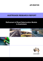 Cover of Refinement of Road Deterioration Models in Australasia