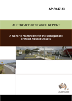 Cover of A Generic Framework for the Management of Road Related Assets