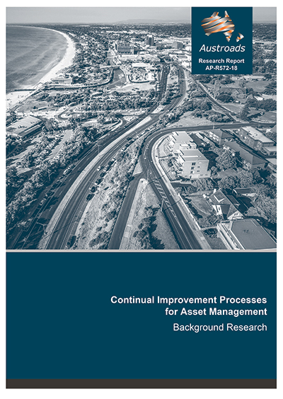 Cover of Continual Improvement Processes for Asset Management: Background Research