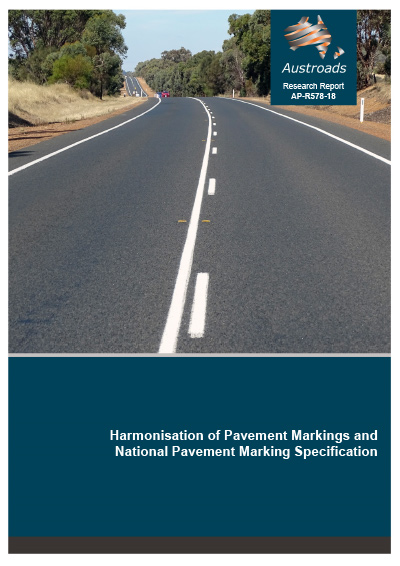 Cover of Harmonisation of Pavement Markings and National Pavement Marking Specification