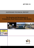Cover of The Scoping and Development of Probabilistic Road Deterioration (RD) Models