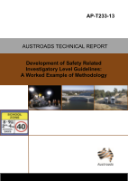 Cover of Development of Safety Related Investigatory Level Guidelines: A Worked Example of Methodology