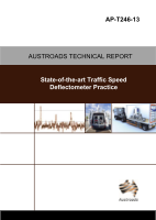 Cover of State-of-the-Art Traffic Speed Deflectometer Practice