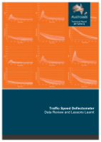 Cover of Traffic Speed Deflectometer: Data Review and Lessons Learnt