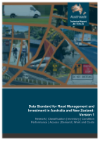 Cover of Data Standard for Road Management and Investment in Australia and New Zealand: Version 1