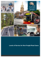 Cover of Levels of Service for Non-Freight Road Users