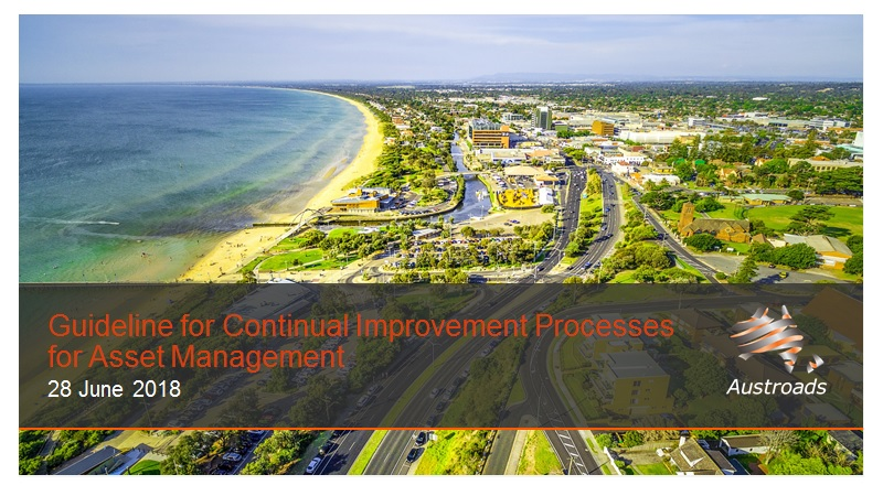 Cover of Webinar: Guideline for Continual Improvement Processes for Asset Management