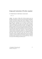 Cover of Design and Construction of Werribee Aqueduct