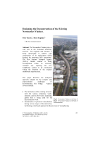 Cover of Designing the Deconstruction of the Existing Newmarket Viaduct
