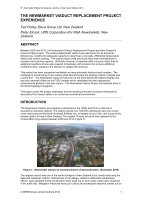 Cover of The Newmarket Viaduct Replacement Project Experience