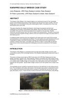 Cover of Karapiro Gully River Bridge Case Study
