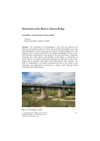 Cover of Restoration of the Historic Tharwa Bridge